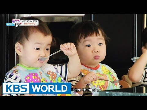 The Return of Superman - Morning Rush at the Triplets'