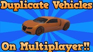 GTA 5 ONLINE - CAR DUPLICATION GLITCH (How To Duplicate ANY Car On GTA V) Online Duplicate Glitch