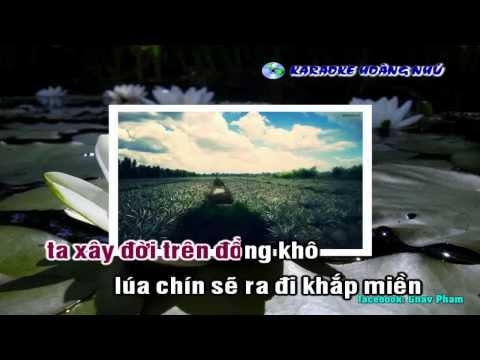[Karaoke Nhạc Sống Full HD] Yêu Chị Hai Lúa