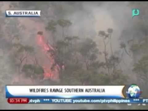 [NewsLife] One Global Village: Wildfires ravage Southern Australia || October 18, 2013