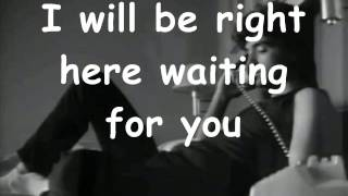 Richard Marx Right Here Waiting For You (Karaoke)
