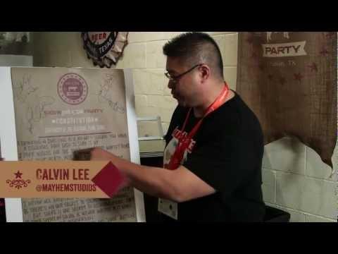 #SXSWPorkSocial: Calvin Lee Ratifies Pork Social Constitution