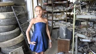 Garota de 10 anos canta �pera em Santa Luzia