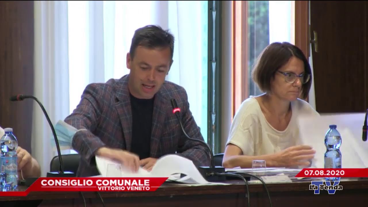 CONSIGLIO COMUNALE VITTORIO VENETO - Seduta del 07.08.2020