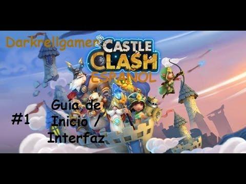 Castle Clash Español ★ Castillo Furioso #1 Guía de Inicio / Interfaz