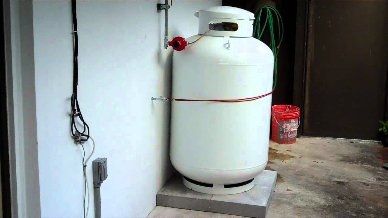 Propane Water Heater: Excel Tankless Propane Water Heater