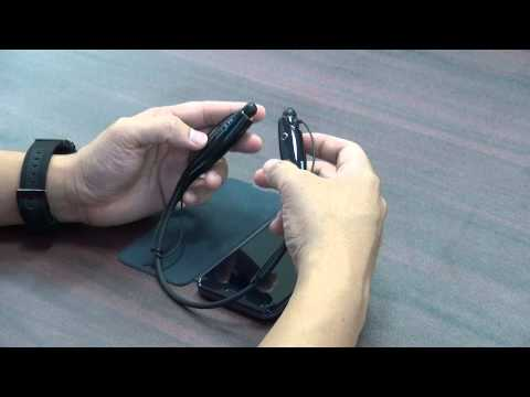 LG Bluetooth HBS-730 - Video trên tay và hướng dẫn sử dụng