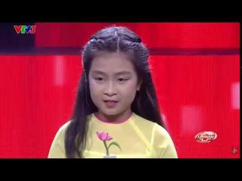 Tàu Anh Qua Núi - Nguyễn Hoàng Mai Anh | Tập 3 Vòng Giấu Mặt | Giọng Hát Việt Nhí 2016.