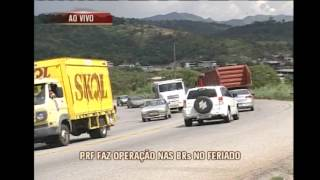 Pol�cia faz opera��o especial de seguran�a nas estradas para o feriado