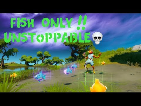 Fortnite FISH ONLY &  Funny Moments