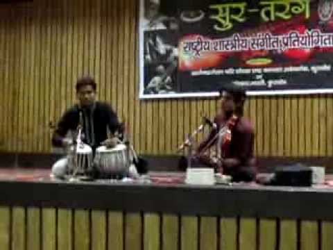 Rishabh Dev Raag- Ahir Bhairav with Jatinder Kumar on Tabla !!