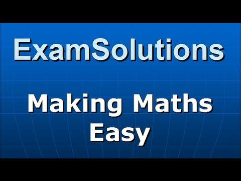 A-Level Edexcel C3 January 2010 Q2(c) : ExamSolutions
