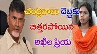 Gangula meeting Chandrababu upsets Minister Akhila Priya..
