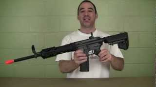Airsoft Review King Arms Blackwater BW15 AEG view on youtube.com tube online.