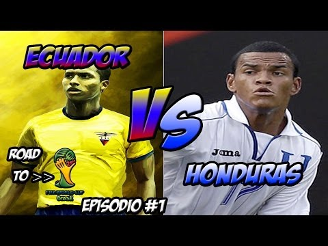 PES 2014 - ROAD TO FIFA WORLD CUP BRASIL 2014 - ECUADOR VS HONDURAS - [EPISODIO 1]