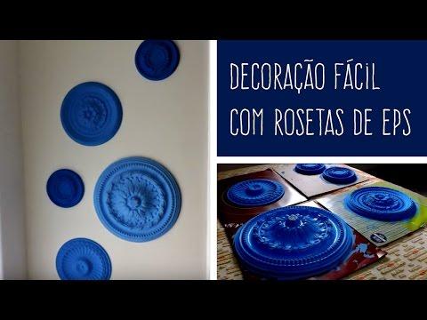 MULTIFIX FIXA RODAPÉ E SANCA - DIY: Decoração com rosetas de EPS