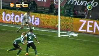 09J :: Sporting - 3 x Marítimo - 2 de 2013/2014
