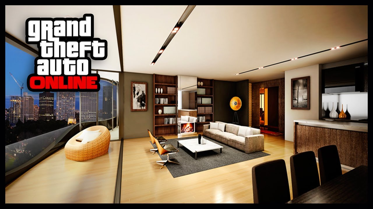 Gta 5 online high life apartment tour best apartment for Designer apartment gta 5