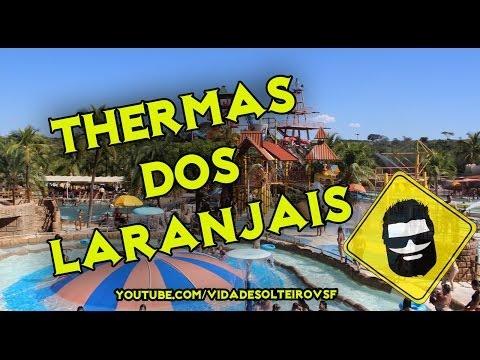 Thermas dos Laranjais - Olímpia SP - Viagem Parque Aquático | Vida de Solteiro