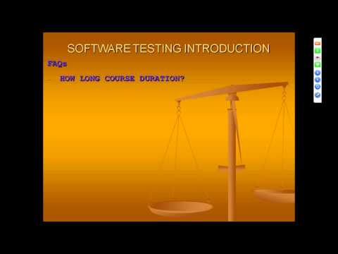SOFTWARE TESTING INTRODUCTION FREE TUTORIAL DEMO TUTORIAL FOR BEGINNERS