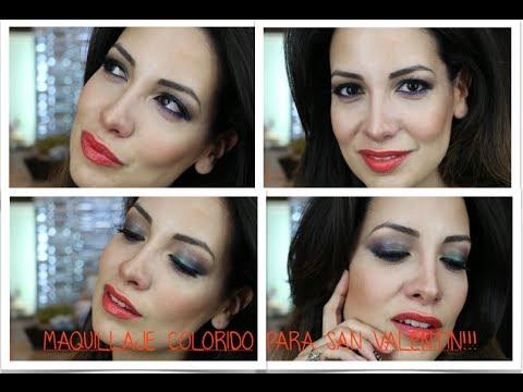 Maquillaje Colorido (Valentine´s Day)
