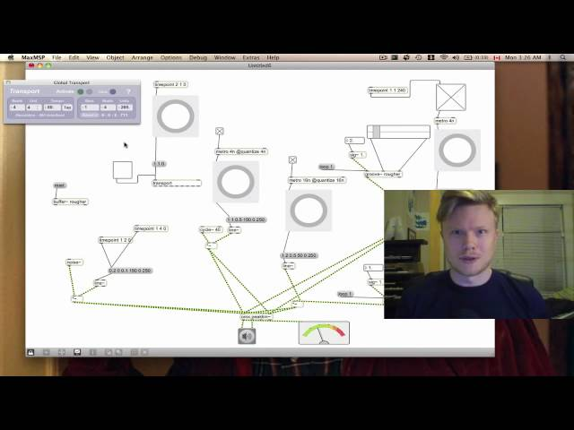 Max MSP Quick and Dirty Part 1: Sequencing