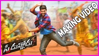Speedunnodu Movie Making, Working Stills - Bellamkonda Srinivas, Sonarika