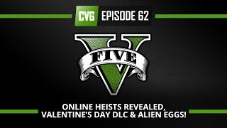 GTA V O'clock: First Online Heist Revealed, Valentine's