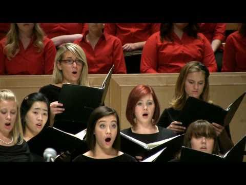 """Floret silva"" from Carmina Burana-Univesity of Utah A Cappella Choir"