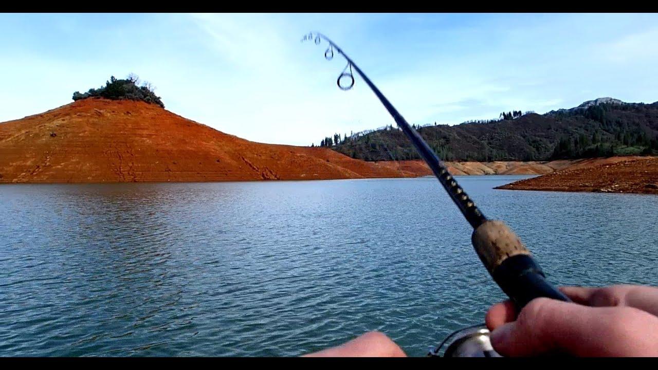 Fishing mount bass fishing lake shasta 2014 with for Lake shasta fishing