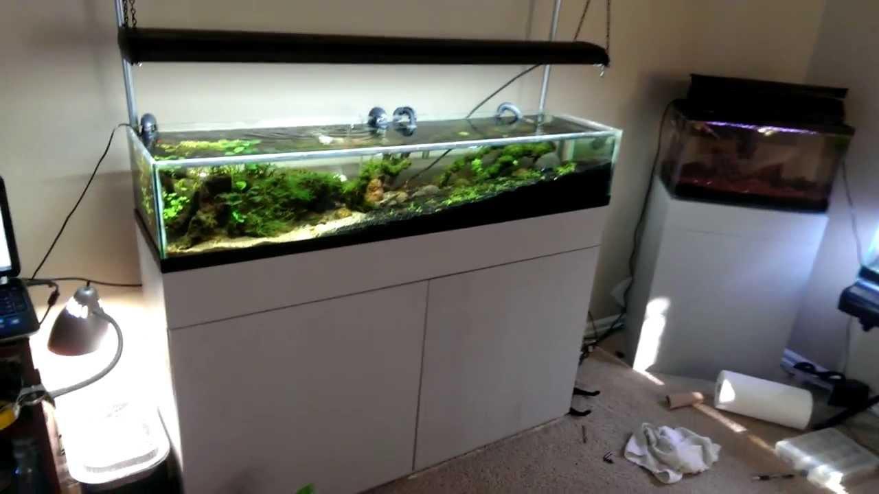 Diy light hanging kit youtube for Spacearium aquariums