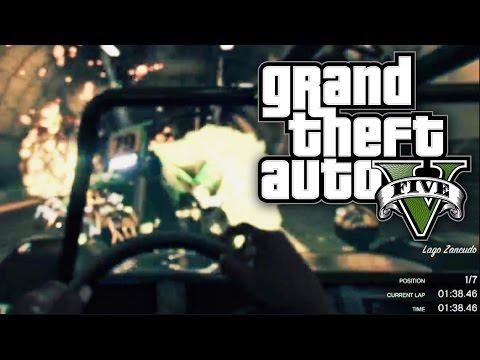 GTA 5 Online - 4X4 JUMP WAR! (GTA V Online)