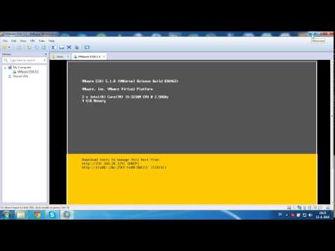 VMware ESXi 5.1 install inside VMworkstation under Windows 7