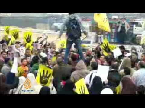 Thousands protest in Egypt against Sisi's possible presidential run