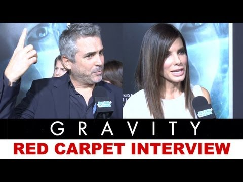 Gravity 2013 Red Carpet Interview - Sandra Bullock, Alfonso Cuaron : Beyond The Trailer