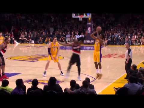 Portland Trail Blazers vs Los Angeles Lakers | April 1, 2014 | NBA 2013-14 Season