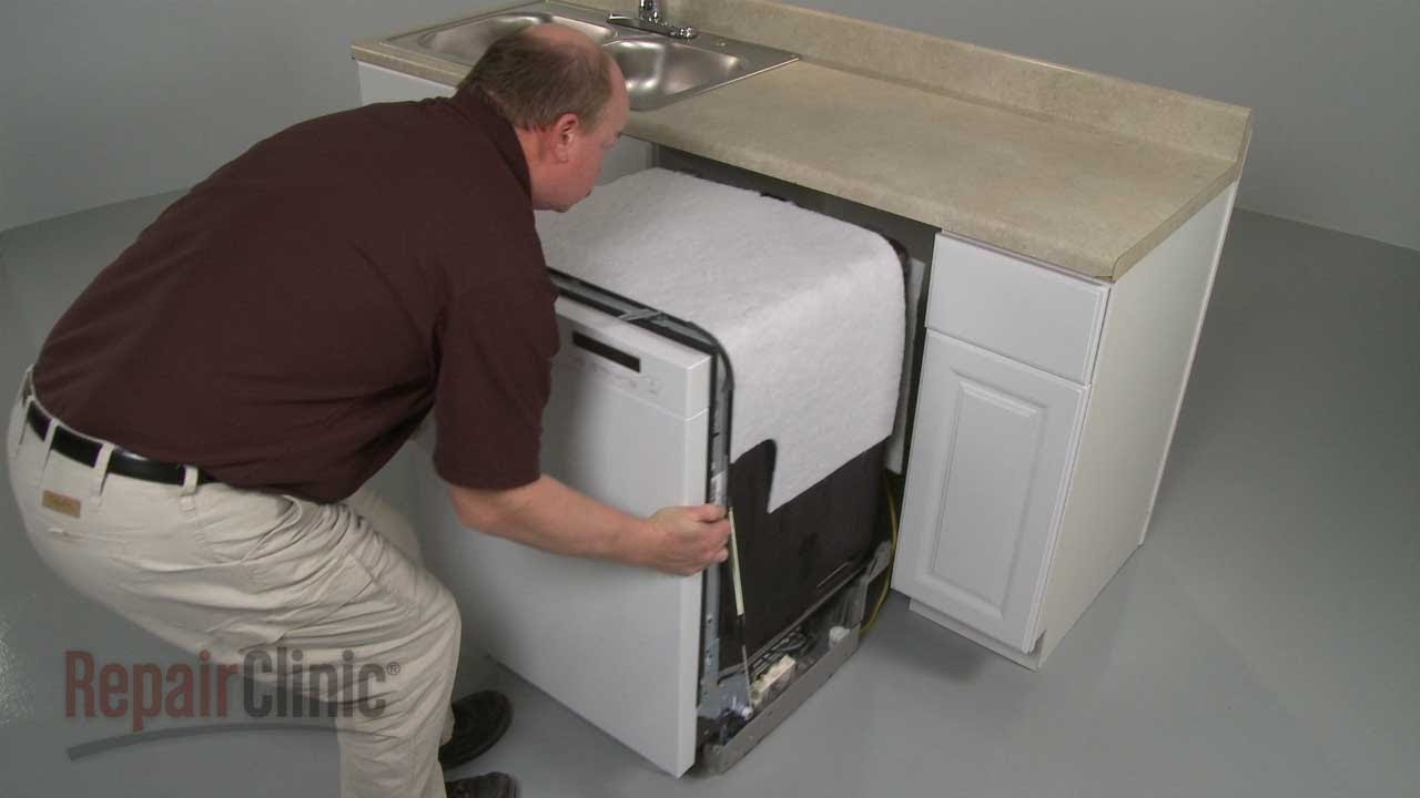 lg dishwasher removal and reinstall youtube. Black Bedroom Furniture Sets. Home Design Ideas