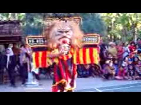 Reog Mini latihan persiapan Festival