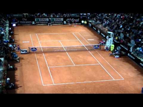 Rafa nadal vs Dimitrov Rome 2014