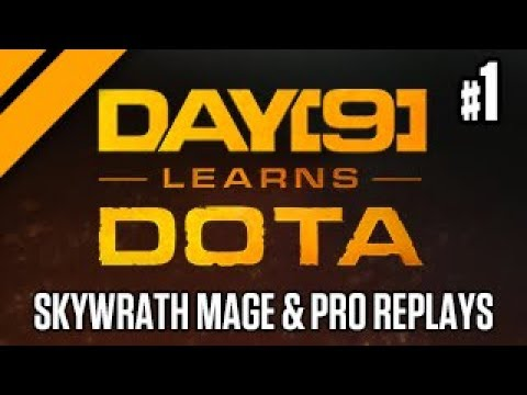 Day[9] Learns Dota - Skywrath Mage & Pro Replay Review: EG vs OG - P1