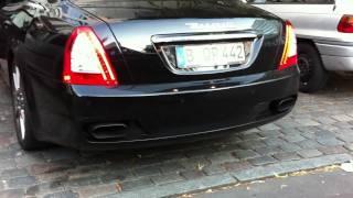 Maserati Quattroporte Sport GTS Startup videos