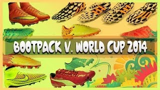 Pack De Botas[81] V. WORLD CUP BRASIL 2014 Full HD Y