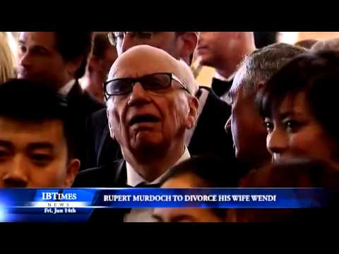 Rupert Murdoch Is To Divorce His Wife Wendi