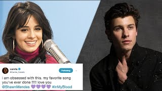 Celebrities REACT To Shawn Mendes' New Track 'In My Blood' & 'Lost In Japan'!