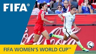 HIGHLIGHTS: China PR v. USA - FIFA Women's World Cup 2015 - Duration: 2:19.