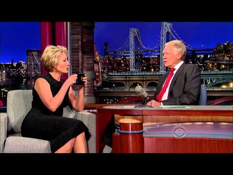 Emma Thompson on David Letterman - December 11 2013 - Full Interview