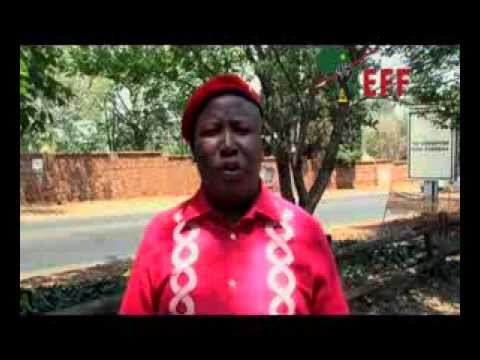 JULIUS MALEMA INVITES YOU TO THE OFFICIAL LAUNCH  OF ECONOMIC FREEDOM FIGHTERS