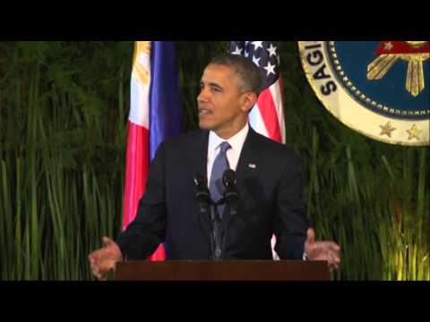 In Manila, Obama Announces New Russia Sanctions