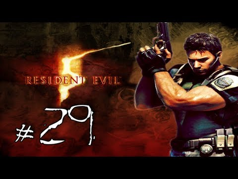 Resident Evil 5 Walkthrough / Gameplay w/ LazyCanuckk Part 29 - Gumbercules II - Gumbercules Harder