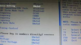 How To Overclock Core I7 920 To 4,1GHz On Asus P6T